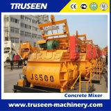 Máquina completamente automática de la construcción del mezclador concreto Js500 para el proyecto de edificio