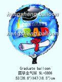 Постдипломный воздушный шар Mylar (10-SL-151)