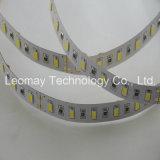 Luz de tiras de SMD5630 LED DC24V 18W 3000lm por el contador