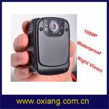 Wasserdichte Polizei-Karosserie getragene Videokamera mit 120 Grad Weitwinkel