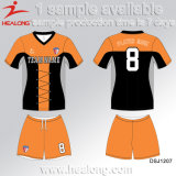 Le premier football Jersey de dames de club de sublimation de vêtements de sport de vente de Healong à vendre