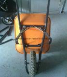 熱い販売の頑丈な金属の構築の一輪車Wb6400