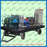 고압 산업 청소 세탁기 관 깨끗한 물 제트기 세탁기술자