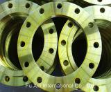 Flansch der Platten-Bs4504 10/3, gelbe Lack-Flansche