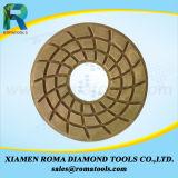 As almofadas de polonês do diamante de Romatools 1000# molharam o uso