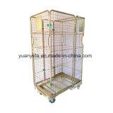 De goud Gegalvaniseerde Containers van het Broodje van de Pallet van het Netwerk van de Opslag van het Pakhuis