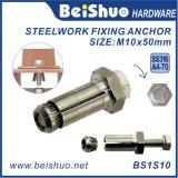 Ancla de la extensión del acero inoxidable M10 316 para las aplicaciones de acero