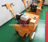 Compactador de solo vibratório manual Single Roller Walk Behind (FYL-600)