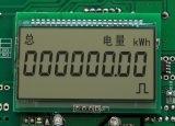 Индикация LCD лифта Stn с голубой предпосылкой