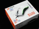 Het golf Vakje van het Karton van de Verpakking van de Kleur van het Vakje van de Gift van het Document voor de Muis van het Toetsenbord met de Transparante Toebehoren van de Producten van de Computer van het Venster (D38)