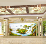 Pittura a olio Handmade all'ingrosso di paesaggio su tela di canapa, pittura della decorazione dell'hotel, pittura domestica della decorazione