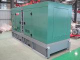 Generatore diesel silenzioso eccellente a tre fasi approvato 125kVA (GDC125*S) del Ce