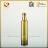 250 ml de azeite redonda garrafa de vidro com tampa com rosca (533)