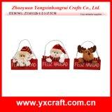 Ornamento quente do Natal do presente da venda do Natal 2016 da decoração do Natal (ZY15Y094-1-2) os melhores