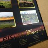 紫外線点を押すホイルとの贅沢なカタログの印刷