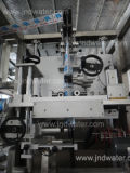 둥근 병 (JND-100)를 위한 자동적인 수축 소매 레테르를 붙이는 기계