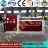 Quente! Mclw12CNC-12X2000 máquina de rolamento hidráulica da placa dos rolos do CNC quatro