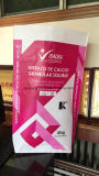 25kg Kraftpapier Paper/PP gesponnener lamellierter Beutel für chemisches Material/granuliert