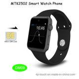 Mtk2502 телефон вахты системы Bluetooth 4.0 франтовской с гнездом для платы SIM (DM09)