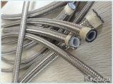 Intrecciato con il tubo flessibile di Teflon dell'acciaio inossidabile