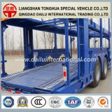 Transporteur de véhicules à 3 essieux / Transporteur de voiture Semi-remorque à vendre