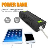 Mobile Mini Jump Starter Banco de energia portátil para Jumpstarting 20000mAh