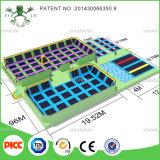 Китай Xiaofeixia Professional Manufacturer Trampoline с Foam Pit и Dodge Ball, Gymnastic Trampoline Cloth для Sale