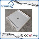 衛生製品のABSプラスチック2側面のリップの本部の無駄のシャワーベース(ACT9191)