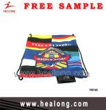 Healong ha personalizzato il sacchetto di stringa di sport di addestramento del banco dello zaino