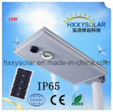 IP65 6500K LED integrado Solar Luz Rua 10W
