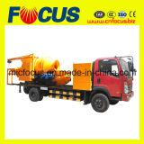 Pompe concrète montée par camion avec le mélangeur