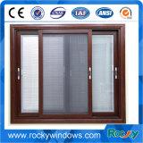 De aluminio ventana deslizante con Mosquitera
