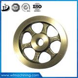 ISO OEM Poulie en fer forgé sur mesure Roue en fonte grise Fonderie de sable Revêtement de peinture Usinage Pulley Fly Wheel