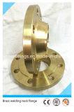 ASME/DIN/JIS forjou flanges do bronze de Wnrf