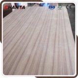 madera contrachapada de la teca de 6m m con base del álamo del fabricante de Chanta