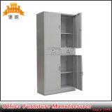 Cabinete de archivo barato de los cajones de la sección dos del doble del metal