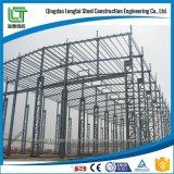 Стальные сегменте панельного домостроения зданий на заводе