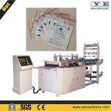 China-Plastikreißverschluss-Verriegelungs-Beutel, der Maschine herstellt