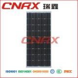 mono PV comitato di energia solare di 160W con l'iso di TUV