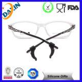Grado superior cómodo Titular de silicona antideslizante para gafas, gancho del oído, de la lente del templo Consejo