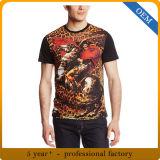 Le T-shirt estampé par sublimation des hommes faits sur commande