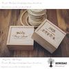 Rectángulo de madera Wholesael_D de la tarjeta de visita del diseño especial de encargo de Hongdao