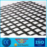 Fibra de vidrio de alta resistencia barata Geogrid de la fuerza para el refuerzo/el poliester de alta resistencia de la fuerza biaxiales