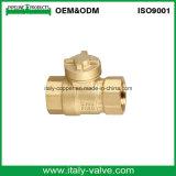 Clapet à bille en laiton de gros verrouillable avec verrou (AV1006)