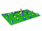 膨脹可能なPaintballの燃料庫フィールド、Paintball競技場、膨脹可能なスポーツのゲーム