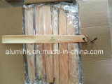 Balai principal rond en bois de couche de balai de couche d'hôtel pour l'hôtel