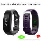 2017 nuovi braccialetto astuto di Bluetooth 4.0 con il video H28 di frequenza cardiaca