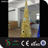 Girlande-Motiv beleuchtet Weihnachtskegel-Baum-Lichter