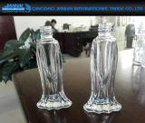 frasco de perfume de vidro do modelo dos peixes de 15ml 18ml com pulverizador plástico