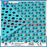 Öl-Widerstand-Gleitschutzfußboden-Matte, antibakterielle Gummimatte